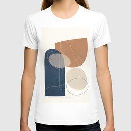 Spiraling Geometry 1 T-shirt