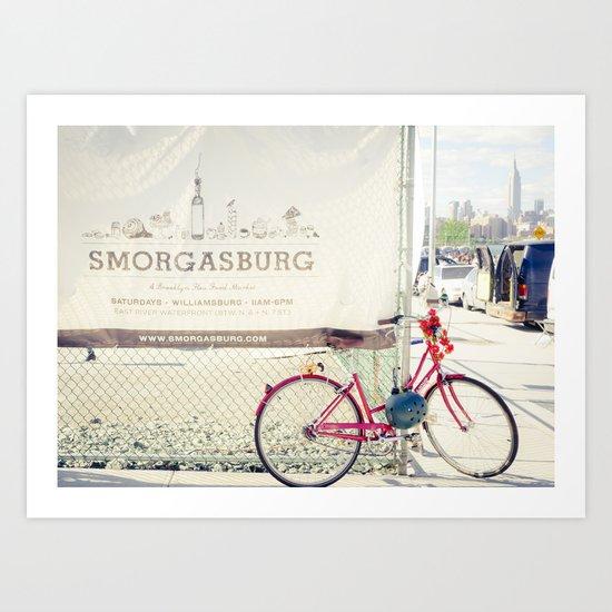Smorgasburg Art Print