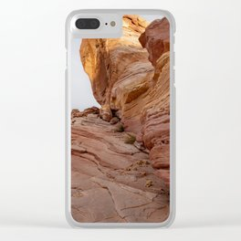 0364 Valley_of_Fire_State_Park, Nevada Clear iPhone Case