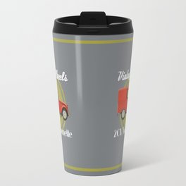Vintage Wheels: Citroën 2CV Fourgonnette Travel Mug