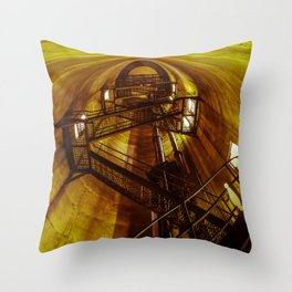 Stairwell Throw Pillow