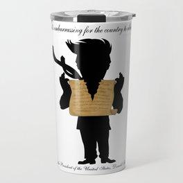 First Amendment Ripped Travel Mug