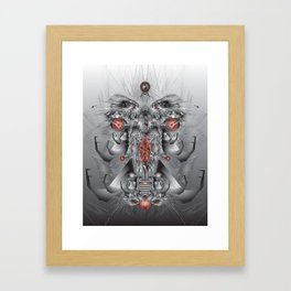 elephantmon Framed Art Print