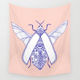 porcelaine bug Wall Tapestry