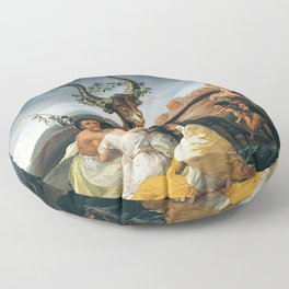 THE SABBATH OF THE WITCHES - GOYA Floor Pillow