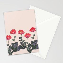 Spring, White, Painting ,Seamless ,Savings, Grass  Stationery Cards