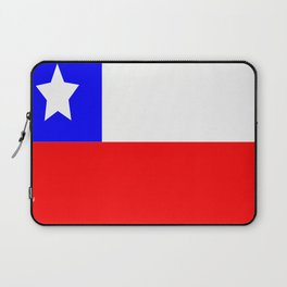 Flag of Chile Laptop Sleeve
