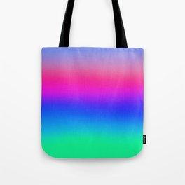pastel rainbow Tote Bag