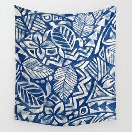 Hawaiian tribal pattern Wall Tapestry