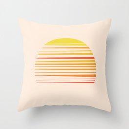 all summer long Throw Pillow