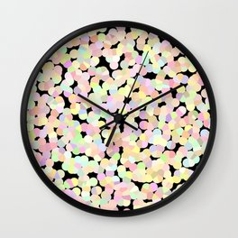 Marshmallow Allsorts Wall Clock