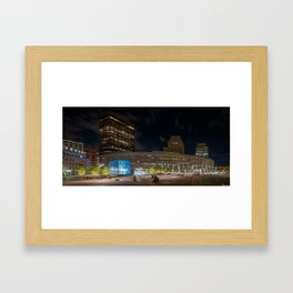 Government Center Framed Art Print