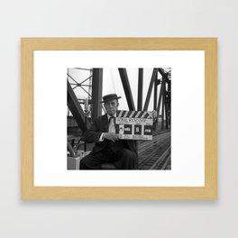 Buster Keaton - The Railrodder Framed Art Print