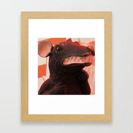 brawler Framed Art Print