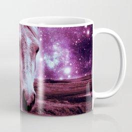 Mauve Horse Celestial Dreams Coffee Mug