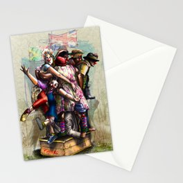 """African+British """"Red Nose Day"""" Stationery Cards"""