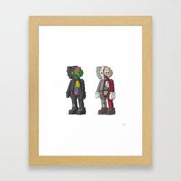 Companions Framed Art Print