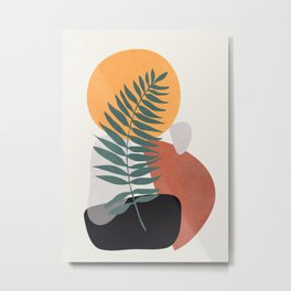 Abstract Shapes No.24 Metal Print