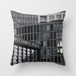 Urban Textures Throw Pillow