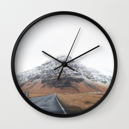 Iceland Road Trip Wall Clock
