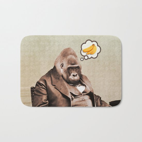 Gorilla My Dreams Bath Mat
