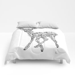 Leafy Deer Comforters