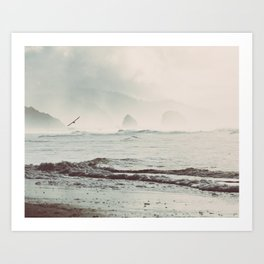 Great American Road Trip - Oregon Coast Art Print