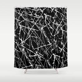 b&w Shower Curtain