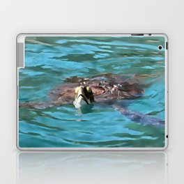 Loggerhead Sea Turtle Laptop & iPad Skin