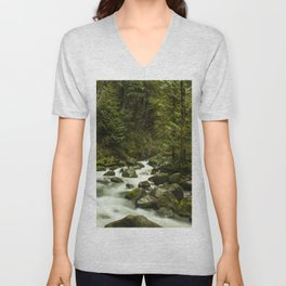 Rios de Oregon 1 Unisex V-Neck
