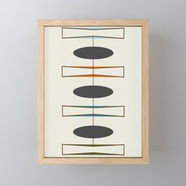 Mid-Century Modern 1.1 Framed Mini Art Print