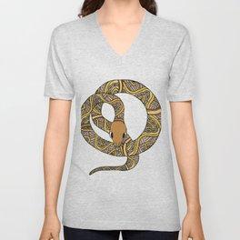 Rainbow Serpent Unisex V-Neck