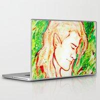 legolas Laptop & iPad Skins featuring Legolas by AlysIndigo