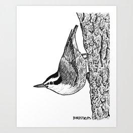 Bird no. 386: Angular Art Print