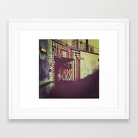 subway Framed Art Prints featuring Subway by Efua Boakye