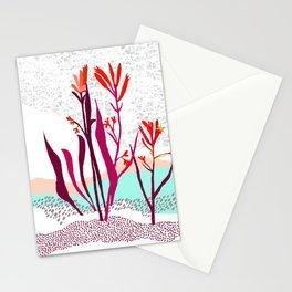 Kangaroo paw illustration Stationery Cards