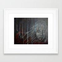 les miserables Framed Art Prints featuring Cossette ~Les Miserables by prestone85