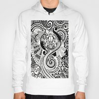 maori Hoodies featuring Maori tribal design by Noah's ART