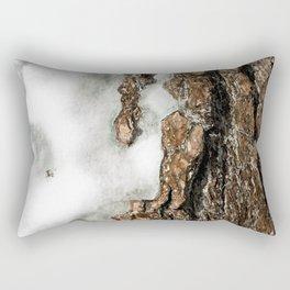 Icy Tree Rectangular Pillow