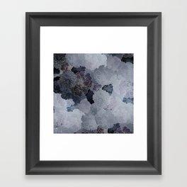 ss13 blues -grey blue Framed Art Print