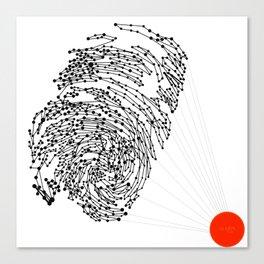 the Fingerprint Canvas Print