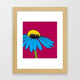 The ordinary Coneflower Framed Art Print