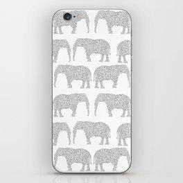 Alabama bama crimson tide elephant state college university pattern footabll iPhone Skin