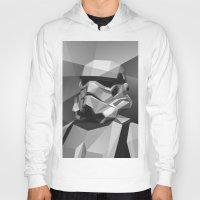 stormtrooper Hoodies featuring Stormtrooper by Filip Peraić