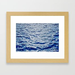 Abstract Water Games I Framed Art Print