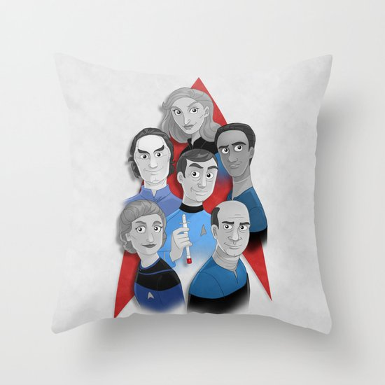 Starfleet Doctors Throw Pillow | Star Trek Gift Guide