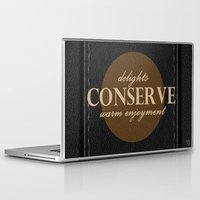 leather Laptop & iPad Skins featuring LeAtHer COnSeRvE by ''CVogiatzi.