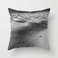 sand Throw Pillows featuring Sand by Fine2art