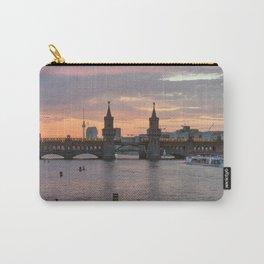 Sunset at Oberbaumbrücke Carry-All Pouch