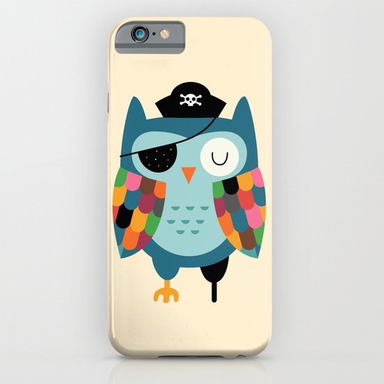 Captain Whooo iPhone & iPod Case